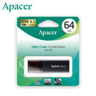 Apacer 16GB 32GB 64GB USB 3.1 Gen 1 USB Flash Pen Drive [Deep Valley Black]