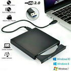 USB External DVD RW CD Driver Reader Slim Burner Player for Laptop PC Computer