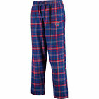 Concepts Sport Chicago Cubs Royal/Red Ultimate Plaid Flannel Pants on Ebay