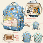 Mummy Nappy Diaper Baby Bag Large Waterproof Backpack Maternity Travel Bag