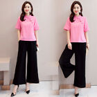 Summer National Style Womens Loose Retro Cotton Linen Large Size Outfit