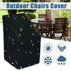 ❤ Waterproof Stacking Chair Cover Outdoor Garden Parkland Patio Chairs Furniture