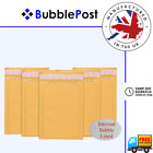 BubblePost - GOLD PADDED POSTAL BUBBLE LINED MAILING ENVELOPES - ALL SIZES