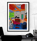 David Hockney Poster Print - Wall Art Decor - Various Sizes #Charity