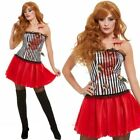 Womens Circus Throwers Assistant Ladies Halloween Fancy Dress Costume New