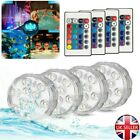 Waterproof Submersible LED Light Underwater Lights Hot Tub Swimming Pool Pond UK