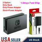 For Nintendo Switch Dock Set AC Power Adapter Black Brand New OEM