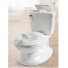 Kids Size Potty Flip-up lid & Removable Training Toilet For Toddler Boys & Girls image