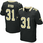 NFL Los Angeles RAMS Brees Cooks Byrd #31 Vaccaro Rugby Trikots Weiß Schwarz