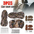 Universal Front + Back Camouflage Design Car Seat Covers Full protect For Jeep
