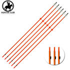 "3/6/12x 32"" Bowfishing Arrows Fiberglass Hunting Shooting Fish With Safety Slide"
