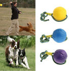 Soft Dog Ball Dog Toy Throwing Ball With Rope String, Non-toxic
