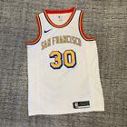 Golden State Warriors #30 Stephen Curry White Jersey FAST SHIPPING
