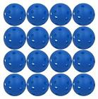 Practice Golf Balls Plastic Wiffle Airflow Hole Colored Value 12/24 Pack Bulk