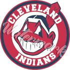 Cleveland Indians Chief Wahoo Circle Vinyl Decal / Sticker ⚾️