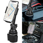 360° Car Adjustable Cup Cradle Holder Mount Universal Stand For Mobile Phone US