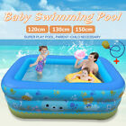 120/130/150cm Inflatable Baby Swimming Pool Kids Pool Bathing Tub Outdoor