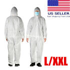 Kyпить Disposable Protective Safety Coveralls with Hood, Clothing, Suit, L, XXL, на еВаy.соm