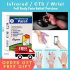 Hot CTS Pain Relief Patches Muscle Balm Relieving Heat Herbal Neck Knee Salonpas