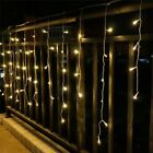 Christmas Lights Outdoor Decoration 5m Droop 0.3-0.5m Led Curtain Icicle String