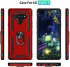 For LG Stylo 6/LG K51 Case Shockproof Stand Cover With Tempered Glass+Car Holder