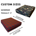 Rattan seat pad Waterproof Outdoor Chair Cushions fit Seat Pads Euro Palette