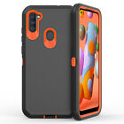 For Samsung Galaxy A11 A21 A21S Case Shockproof Belt Clip Holster Armor Cover