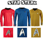 Star Trek Into Darkness Starfleet Captain Kirk Spock Uniform Costume Shirt Suit on eBay