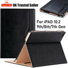 apple ipad 10 2 8th 7th generation 2020 19 genuine leather flip stand case cover