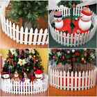 1-50Pcs Picket Fence Garden Fencing Lawn Edging Home Yard Christmas Tree Fence