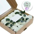 1pcs Handmade Artificial Rose Flowers Wedding Bouquets Gift Valentine's Day O6l5