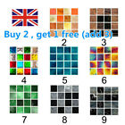 10pcs Waterproof Wall Stickers Wallpaper Removable Diy Home Decor Tile Stickers
