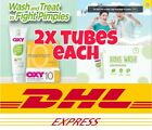 (EACH 2X ITEMS) OXY 5 / OXY 10 / OXY COVER & MORE SKINCARE PRODUCTS DHL EXPRESS!