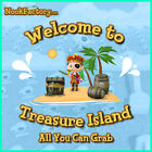 Animal Crossing: New Horizons: Treasure Island Trip - ALL YOU CAN GRAB