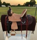"""Western Horse Saddle - Ranch Youth-Kids Leather 10""""12""""13"""""""