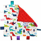 Baby Taggies Blanket Baby Teething Toy Taggy Blanket Plush Toy for Baby Unisex