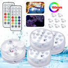 Submersible RGB LED Light Multi-Color Swimming Pool Waterproof Party Lamp+Remote