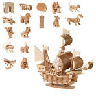 3d Wooden Puzzle For Adults Laser Cutting Model Kits Diy Toy Decorative Rc