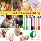 Us Portable Silicone Soap Bracelet Wristband Hand Dispenser Band Squeeze Bottles