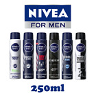 NIVEA MEN Anti-Perspirant Deodorant Spray 250ml - 48 Hours - Pack of 6