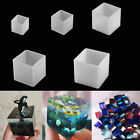 Transparent Silicone Square Mould Epoxy Resin Molds Tools Craft Jewelry Making