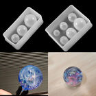 3-6 Grid Round Planet Epoxy Resin Mold for Craft DIY Jewelry Making Accessories