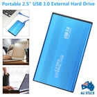 2TB External Hard Drive Disks HDD 2.5'' Fits For PC Laptop Portable USB