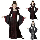 Halloween costume Girls Witch Vampire Cosplay Costume Halloween Children  Party
