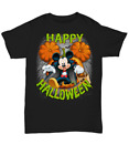 Dracula Mickey Mouse Pumpkin Happy Halloween Thanksgiving Day T-Shirt S-5XL