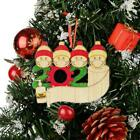 2020 Xmas Christmas Tree Hanging Ornaments Wooden Family Ornament Decor Gifts