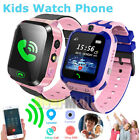 Girls Kids Smart Watch with Games SOS Call Camera Alarm Touch Screen LBS Tracker