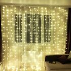Curtains String Wedding Lights Wedge Icicle Garland LED Bulbs Controller 8 Modes