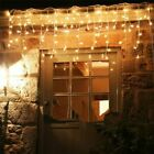 Wedding Lights LED Bulb String Curtain Strip Icicle Bar Lamp 5m Multi Colors New