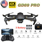 GD89 PRO RC Drone 4K Camera Auto Avoid Obstacle 3D Flip Quadcopter Toy Gift P9K2